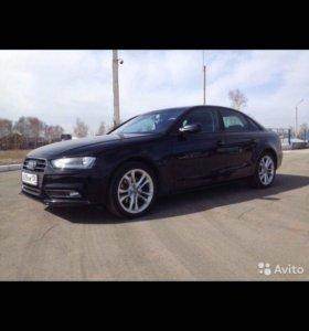 Audi A4, 2012 год