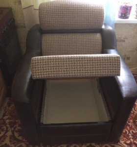 Кресло тумба новое