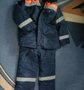 Зимний костюм (куртка+комбез)