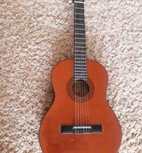 Гитара + чехол новые