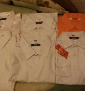Муж.рубашки разные размеры