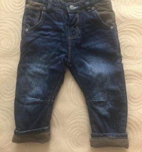 Утеплённые джинсы Зара