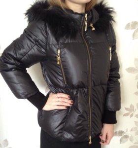 Тёплая куртка, новая!
