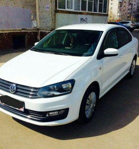 Volkswagen Polo 1.6МТ, 2015, седан