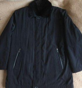 Куртка френч с мехом Kuper