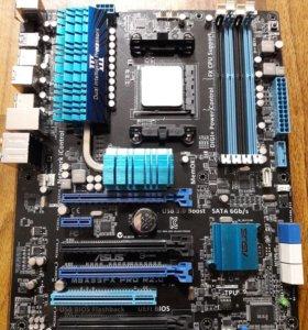 Комплект Asus M5A99FX PRO R2.0 + AMD FX8350