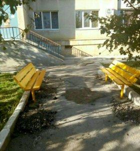 Лавочки столы стулья