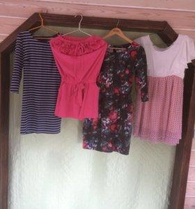 Женские вещи (платья, юбки, штаны, рубашки)