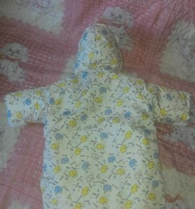 Конверт на синтепоне с рождения до 6 месяцев