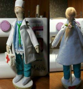 Куклы ручной работы(Образец.)