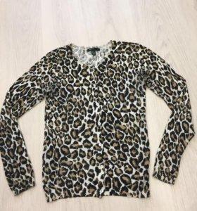 блузка Mango (леопардовая)