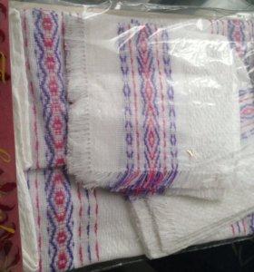 Набор тканевых салфеток и полотенце
