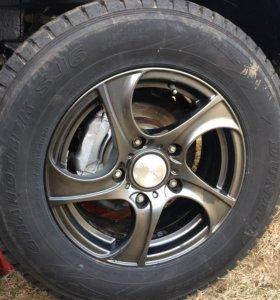 Зимняя резина Dunlop Grandtrek SJ6 225/70 R16 102Q