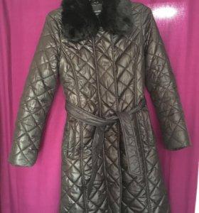 Пальто утеплённое