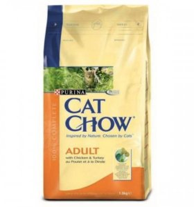 Корм для кошек CAT chow adult в Темрюке