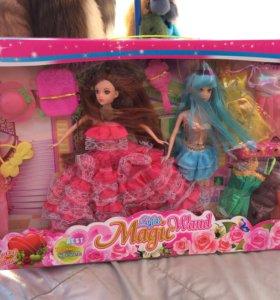 Куклы с гардеробом