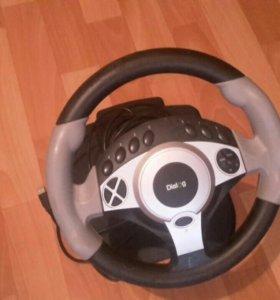 Игровой руль Dialog gw300