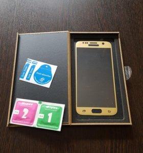 Стекло на Samsung Galaxy s 6