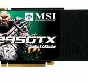 Видеокарта GTX295 MSI