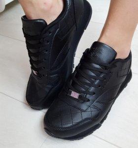 Новые кроссовки экокожа Reebok 35-40