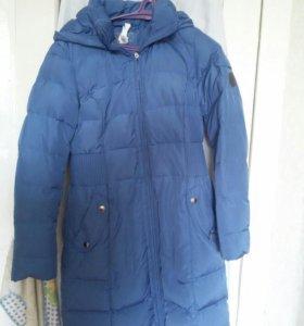 Куртка зимняя теплая 44-46размер почти новая