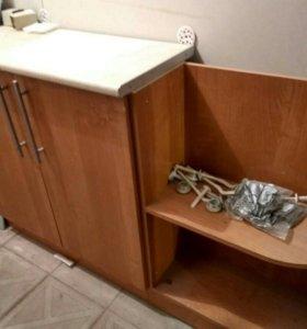 Шкаф навесной и напольный