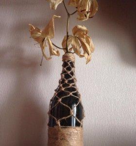 Сувенир/ Интерьерная бутылка
