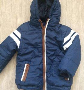Куртка двусторонняя Mayoral на 2 года , осень
