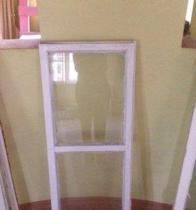 Рамы деревянные со стеклом