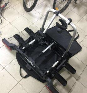 Велокрепление на фаркоп для 2 велосипедов Uebler X