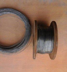 Проволока НИХРОМ Х20Н80 -0,3мм;0,8мм.
