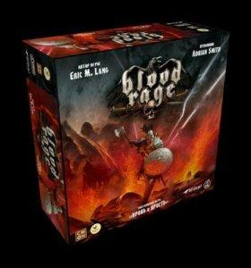 """Blood rage, настольная игра """"Кровь и ярость"""" новая"""