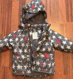 Куртка осень-зима 86р-р