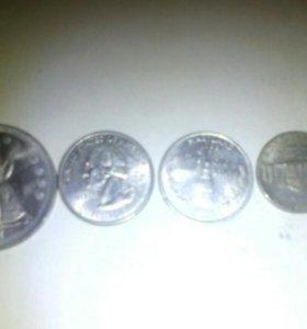 Американские монеты