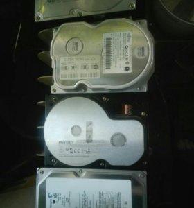 Запчасти от старых компьютеров
