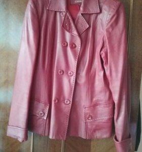 Куртка-пиджак,кожа натуральная48-50