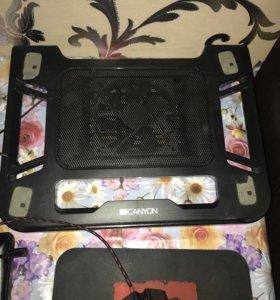 Подставка под ноутбук для охлаждения