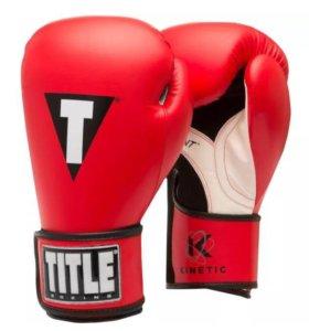 Боксёрские перчатки Title Boxing, 14 ун. (Новые)