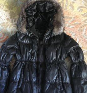 Куртка кожаная Осень/Зима