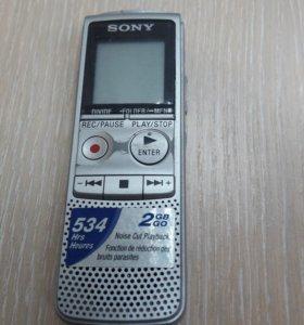Диктофон Sony bx-300 2gb