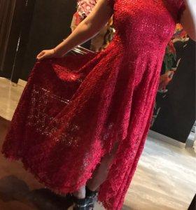 Длинное платье love republic