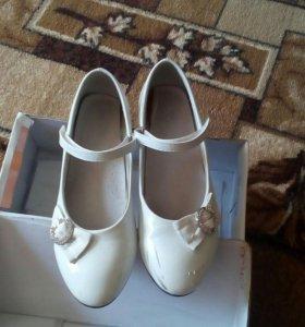 Обувь детская размер 35