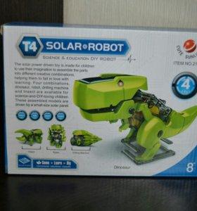 4 в 1 Конструктор solar robot