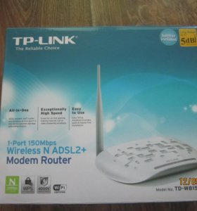 Маршрутизатор TP-Link Wireless N ADSL2+