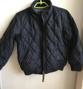 Zara куртка, р.104, тёплая осень/весна