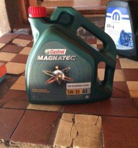 Масло синтетическое CASTROL MAGNATEC 4 литра