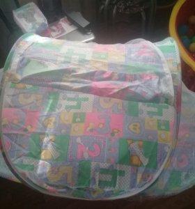 Детская портативная кроватка