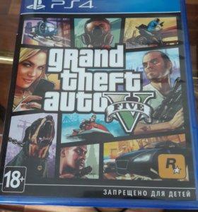 Игра PS4 grand theft auto5