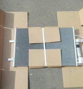 Нов Радиатор кондиционера Mazda 3 BK 03-08 Мазда 3