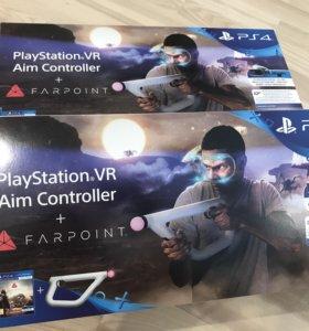 PlayStation VR Aim controller + игра Farpoint